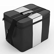 Автомобильная сумка Чёрный-белый