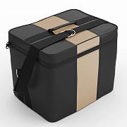Автомобильная сумка Чёрный-бежевый