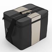 Автомобильная сумка Чёрный-кремовый