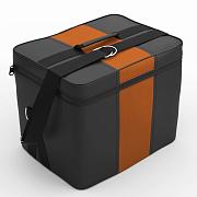 Автомобильная сумка Чёрный-оранжевый