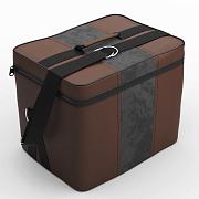 Автомобильная сумка Шоколад-т.серый