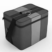 Автомобильная сумка серый-с.серый