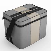 Автомобильная сумка С.серый-кремовый
