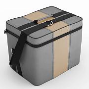 Автомобильная сумка С.серый-бежевый