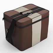 Автомобильная сумка Шоколад-кремовый