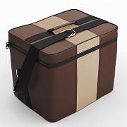 Автомобильная сумка Шоколад-бежевый