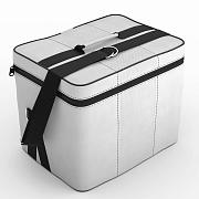 Автомобильная сумка Белый-белый