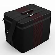 Автомобильная сумка Чёрный-красный